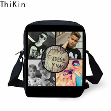 THIKIN Fashion Mini Messenger Bags 3D Adexe & Nau Logo Custom Printing Crossbody Childrens Shoulder Bag Handbags for Women