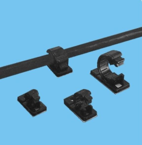 plastic cable clamp :4J S self adhensive cable clamp cable clip ...