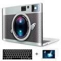 Fasion камеры pattern печати чехол для macbook pro 13 a1706 pro 15 a1707 touchbar кейс для ноутбука для macbook pro 13 retian a1708