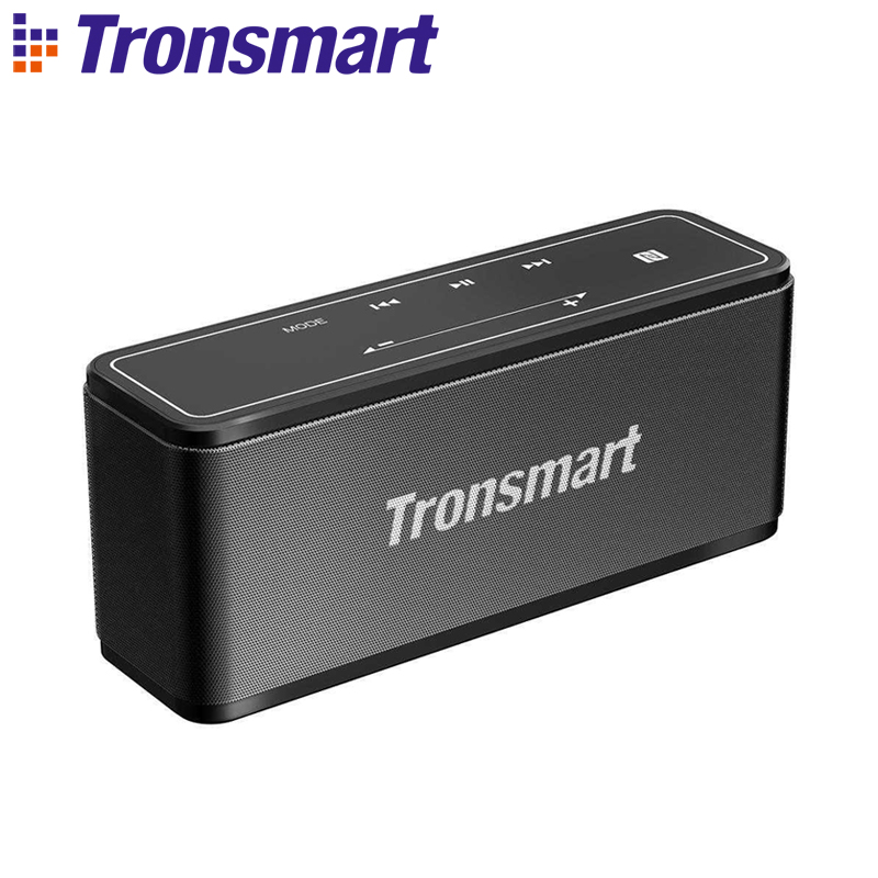 Tronsmart Element Mega Bluetooth Speaker Soundbar Portable Music Wireless Speakers for MP3 Computer Home Theater Support NFC small music tesla coils plasma speakers wireless lighting ion windmills electronic toys gifts