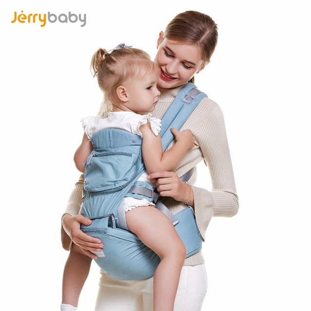 2018 New Design Baby Carrier Hipseat Baby Stool Breathable Backpacks Cotton Sling Wrap Baby Carrier Front Backpack 0-36M 36Kg