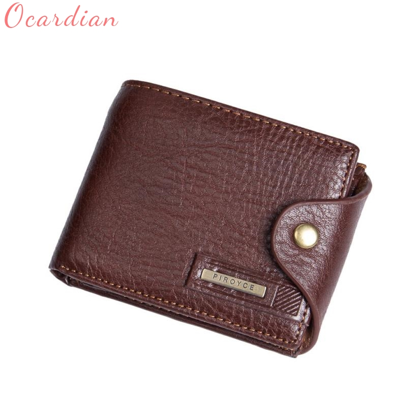 Männer Brieftasche Top-qualität Mode Leder ID Kartenhalter Brieftasche Reißverschluss Geldbörse Handtasche Dropshipping Geschenk Carteira Billetera 17July20