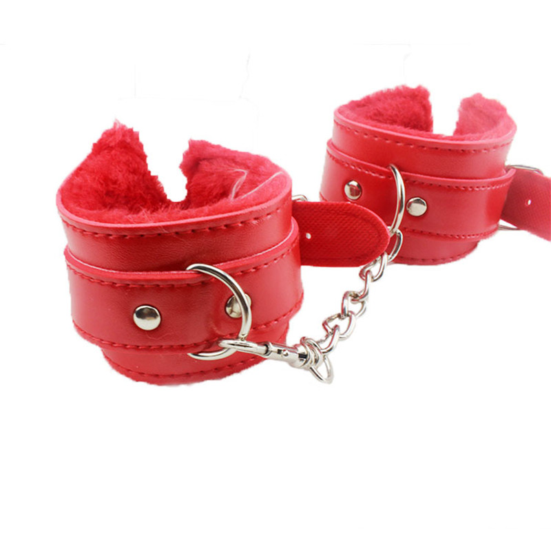 Leather bdsm bondage handcuffs toys,Adult sex toys for couples,sex shop,Adult games for women & men Sexy toys Juguetes sexuales