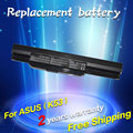 X53e x53sg k53tk jigu batería del ordenador portátil para asus x43jr k84ho X43SJ X43SM X43SV Series K53SD X44 PRO5N X53SE X44LY X43SR K53SN