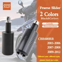 For Honda CBR600RR CBR 600RR CBR 600 RR Frame Slider Crash Pad Falling Protection Motorcycle Part 2003 2004 2005 2006 cnc crash pad frame slider protection guard for honda cbr600rr cbr 600 rr f5 2007 2008 07 08