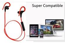 ELECTSHONG Bluetooth Esporte Fone De Ouvido Estéreo de Super Sweatproof Correndo Com Microfone Orelha Gancho fone de ouvido Bluetooth
