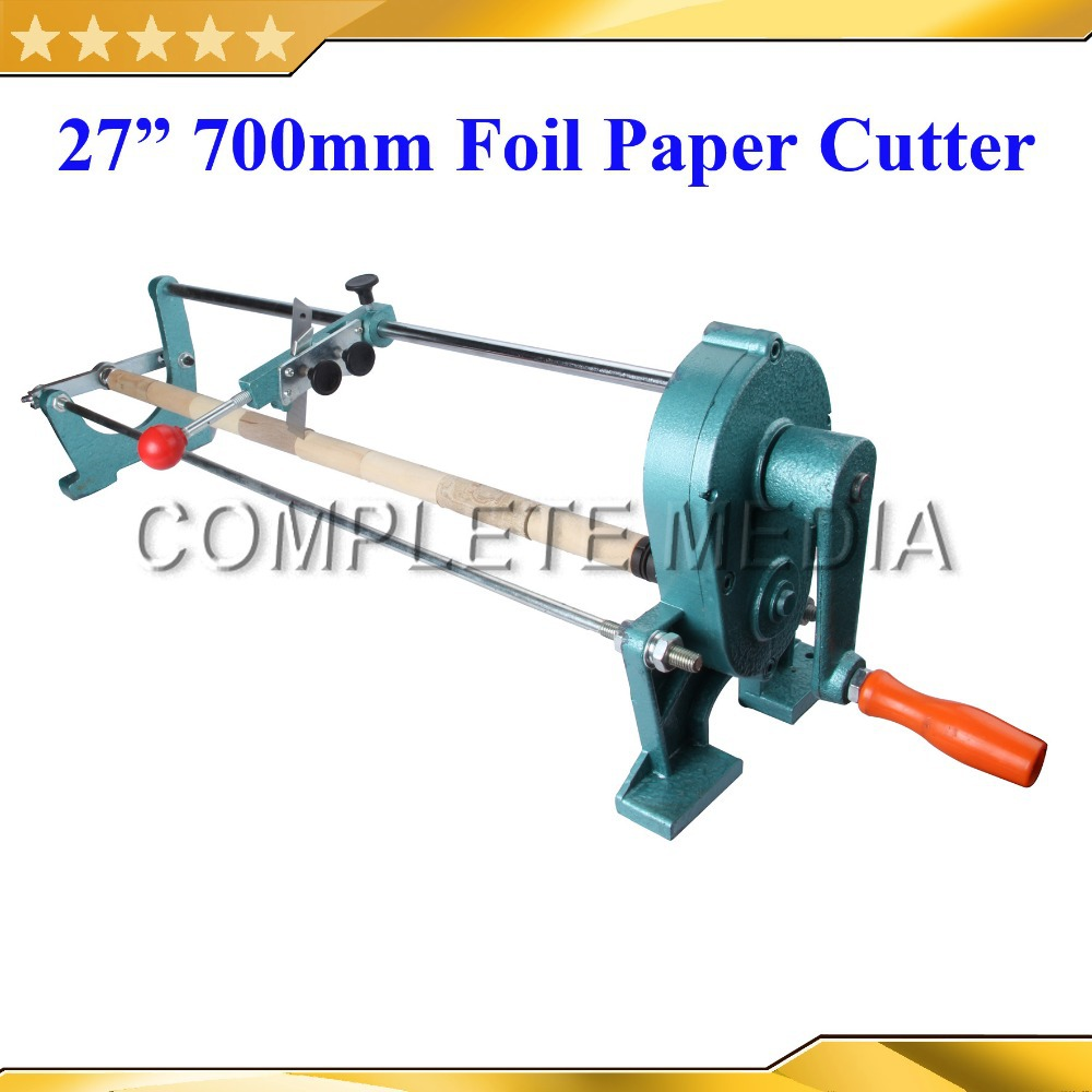 Free Shipping 27inch 70cm Manual Gold Foil Slitter Cutter