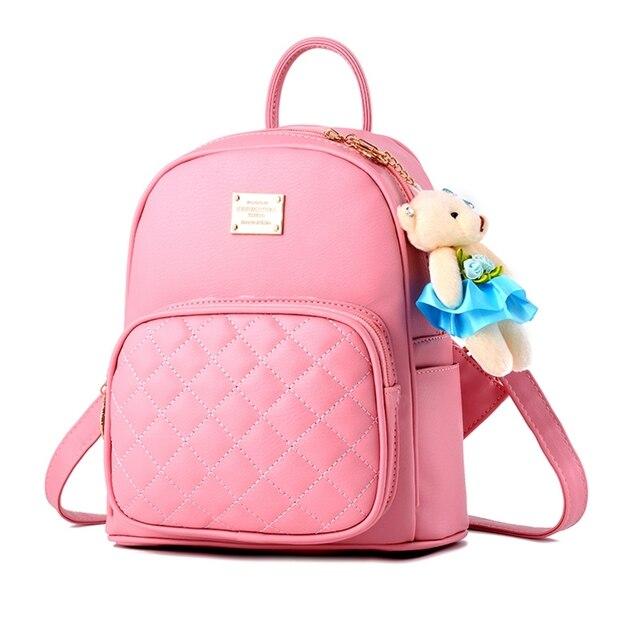 mejor sitio web 863be 18089 € 48.94 |Aliexpress.com: Comprar 2018 nuevas mochilas de mujer de borla de  cuero PU de moda mochilas de señora de alta calidad mochilas de moda para  ...