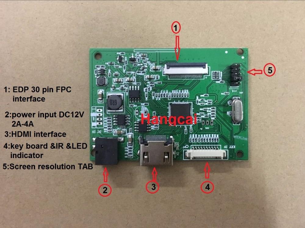 30PIN bordo motorista LCD PCB-800807V1 1 HDMI EDP para a resolução da tela 1920*1200 1920*1080 1600*900 1366*768 1280*800
