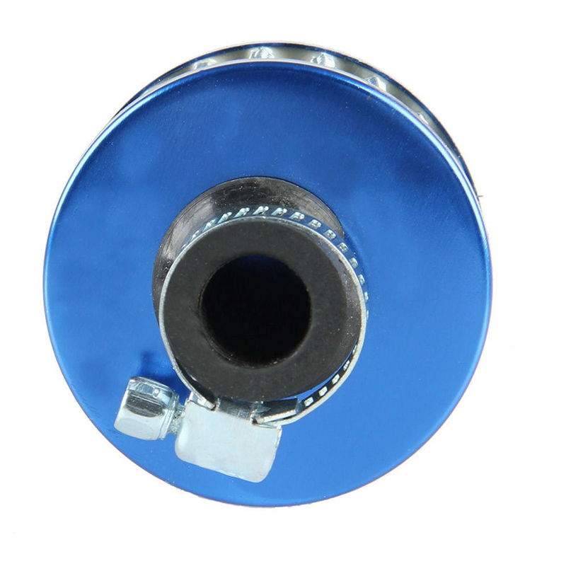 VODOOL Car Air Intake Filter 12mm Blue Mini Car Motor High Flow Cold Air Intake Filter Turbo Vent Crank Auto Filter Cleaner