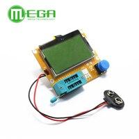 Free Shipping 1pcs LCR T4 Mega328 Transistor Tester Diode Triode Capacitance ESR Meter MOS PNP NPN
