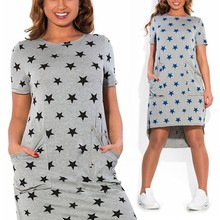 Large Size New Women's Dress Casual Summer Dress