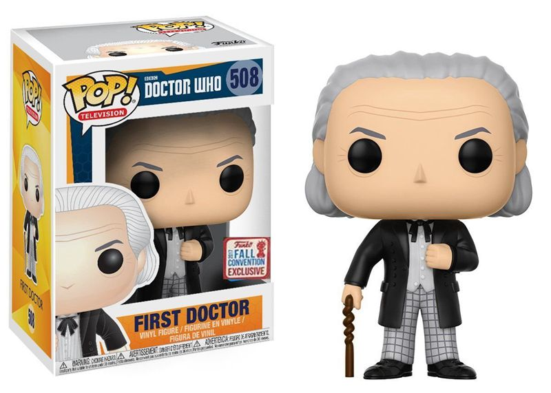 2017 NYCC Exclusive <font><b>Funko</b></font> <font><b>pop</b></font> <font><b>Doctor</b></font> <font><b>Who</b></font> - First <font><b>Doctor</b></font> <font><b>Vinyl</b></font> <font><b>Action</b></font> <font><b>Figure</b></font> Collectible Model Toy with Original Box