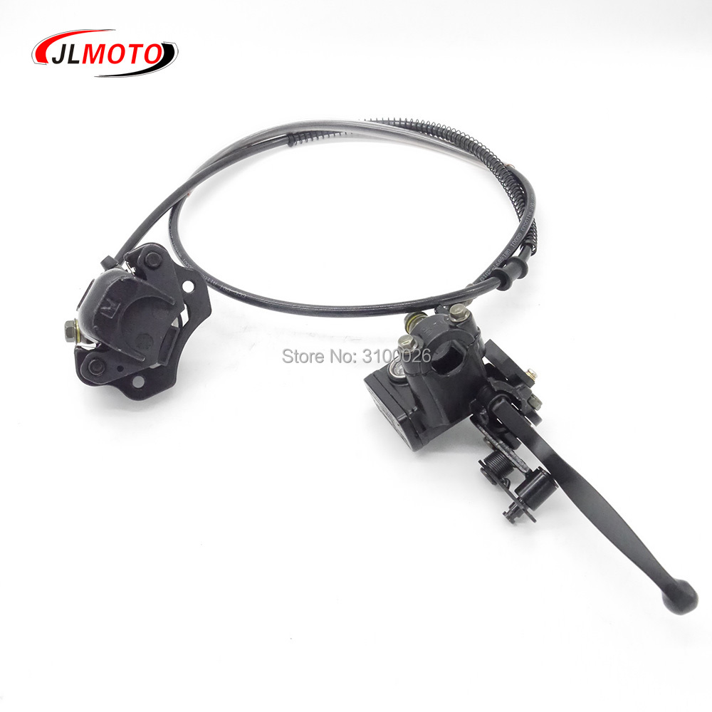 Just 1set 2 In 1 Front Handle Lever Hydraulic Disc Brake 108mm Disc Fit For Atv 50cc 110cc 49cc Bike Go Kart Buggy Utv Scooter Parts Back To Search Resultsautomobiles & Motorcycles