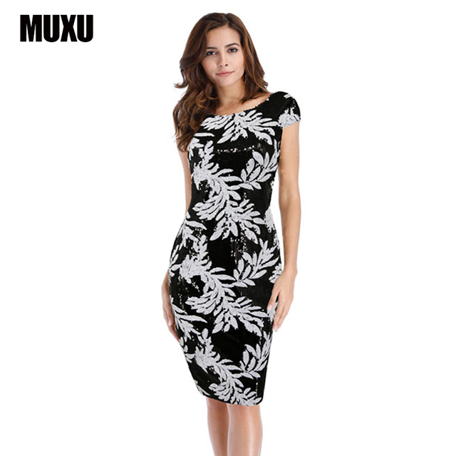 MUXU sexy red sequin dress womens clothing summer glitter patchwork jurken  vestidos mujer bodycon backless pencil 7bfe1f296f0a
