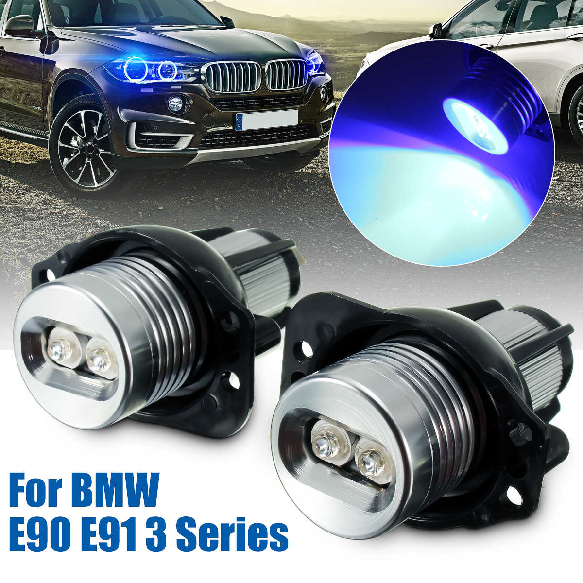 medium resolution of for bmw e90 e91 3 series 325xi 328i 328xi lci 2004 2008 pair angel eye