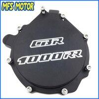 Freeshipping Motorcycle Left Side Engine Stator Cover For Honda CBR1000RR 2004 2005 2006 2007 BLACK