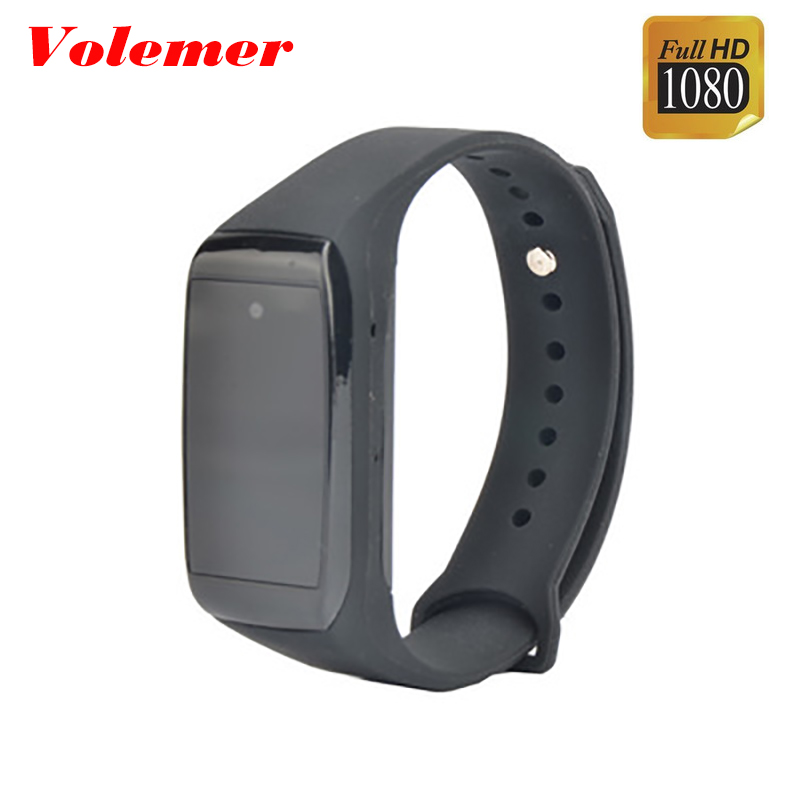 Volemer K28 Smart Bracelet flexible camera 1080P HD Vehicle camera Night Version Mini DVR Motion Sensor Mini Cam Wearable Device