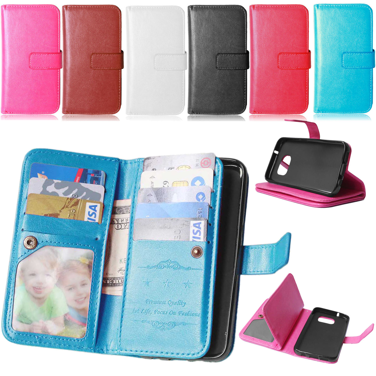 <font><b>S7</b></font> <font><b>Edge</b></font> Cover Luxury Wallet <font><b>Flip</b></font> PU Leather <font><b>Case</b></font> for Samsung Galaxy <font><b>S7</b></font> <font><b>Edge</b></font>/G9350/G935A <font><b>Phone</b></font> <font><b>Case</b></font> With Card Holder Stand Bag