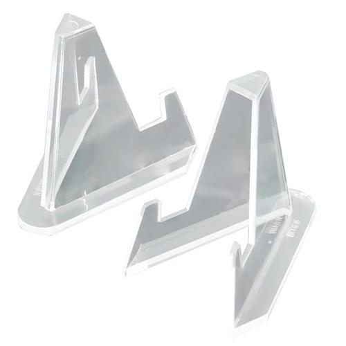 10x Plastic Display Easel Stands Pedestal Picture Photo Frame Holder Support
