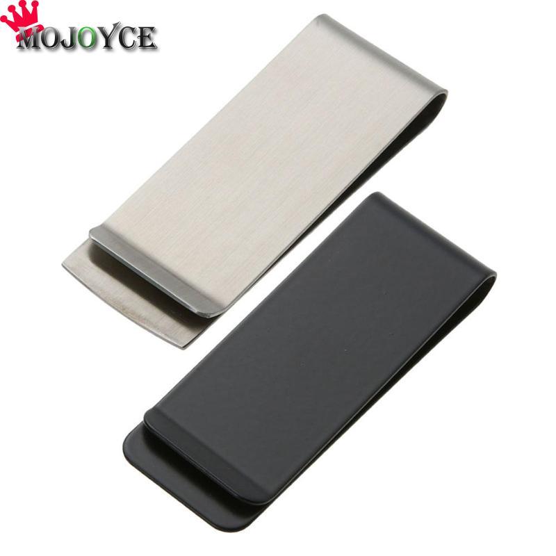 Metal Stainless Steel Money Cash Clip Collar Card Clip For Pocket  Holder