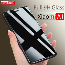 Xiaomi A1 Glass Tempered Mi A1 Screen Protector 2.5d Mofi Ultra Clear Thin 9H Full Cover Screen Protector Xiaomi A1 Glass 4in1 luxury folio stand leather case cover 2x clear screen protector 1x stylus for acer iconia tab 7 0 a1 713 a1 713 a1 713hd