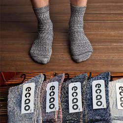 10 пар/лот японские Тяжелые линии мужчин Носки Harajuku ретро цвет народном стиле Носки длинные шерстяные носки оптовая продажа