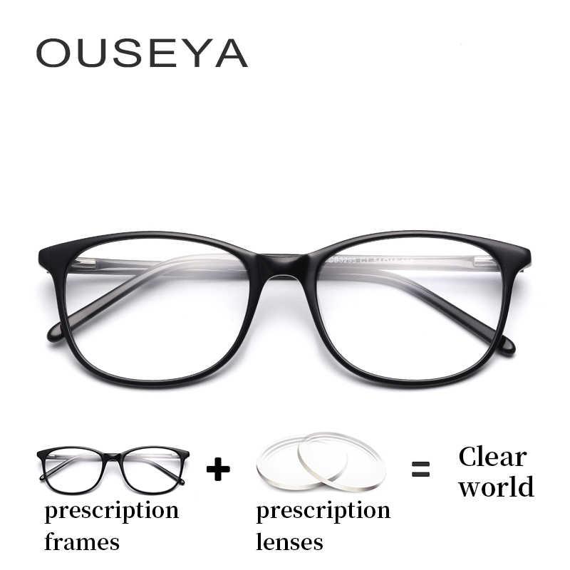 63e71d7d911 Acetate Women Prescriptin Glasses Photochromic Progressive Vintage Glasses- transparent Astigmatism Myopia Spectacles  CB3295