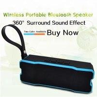 2017 New Arrival IPX6 Waterproof Portable Bluetooth Speakers Sound Bar Speaker