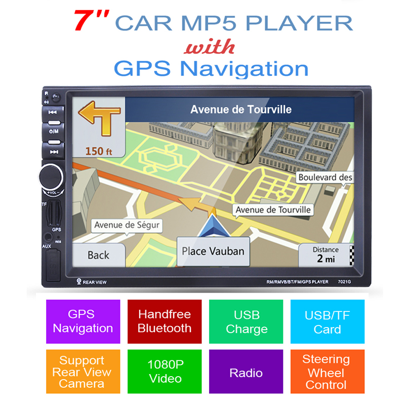 2 din car mp5 player GPS USB universal car radio audio auto car parking sensor stereo in dash Bluetooth Free map+Camera For VW car cd dvd audio auto radio universal double 2 din free gps map navigation in dash car pc vehicle free two 2din gps map camera