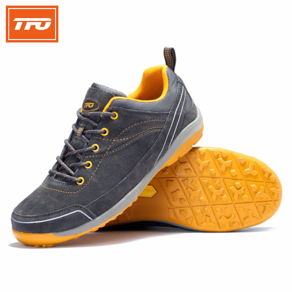 ФОТО TFO men athletic shoes walking shoes man breathable sneakers trail shoes man light sneakers Mountain shoes outdoor sports 8E2557