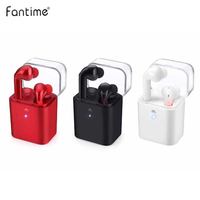 TWS Fun7 Bluetooth Wireless Twins Earphones Earbuds Headset With Charging Box For IPhone 7 Samsung Huawei