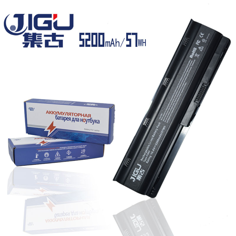 JIGU 6Cells Laptop Battery For HP Compaq Presario CQ57 CQ42-400 CQ43-100 CQ43-200 CQ43-300 CQ43-400LA CQ56-200 CQ56-140SI 150EV 19v 9 5a 19 5v 9 2a ac adapter tpc ba50 power charger for hp 200 5000 200 5100 200 5200 aio envy 23 1000 23 c000 23 c100 23 c200