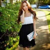 Merk vrouwen Vintage Elegante Jurk Brede Zoom Ontwerp Klassieke Vrouw Patchwork Jurken Mode Lady Kleding Groothandel