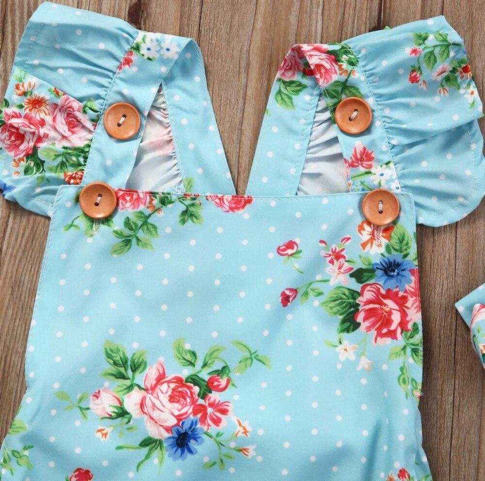 HTB1ABamXpGWBuNjy0Fbq6z4sXXan Newborn Baby Girls Floral One-pieces Romper Sunsuit Headband Clothes Set 0-24M