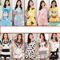 2017 de la Corto-manga modal ropa de casa de dibujos animados lindo de la mujer sexy vestido