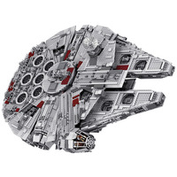 5382 PCS Clone Classic LegoINGlys 10179 Large Star Wars Sets Millennium Falcon Building Blocks 05033 Ultimate