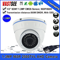 Big Sales AHD 960P 1.3MP HD Analog BNC Camera AHD SONY CCTV indoor dome camera vandalproof BNC CCTV camera freeshipping