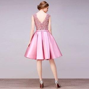 Image 2 - DongCMY Short New Arrival Cocktail Dresses Party Plus Size Women Lace Gown
