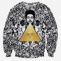 Triangle Diamonds print hoodies men/women 3d sweatshirts Hot sell New cartoon emoji sweatshirt long sleeve hoody WY16