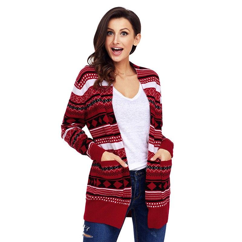 Red-White-Black-Geometric-Knit-Christmas-Cardigan-LC27805-3-3