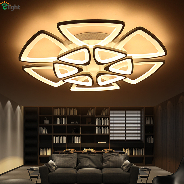 Modern dimmable irregular metal acrylic chandelier foyer bedroom modern dimmable irregular metal acrylic chandelier foyer bedroom minimalism triangle led ceiling mounted chandelier aloadofball Choice Image