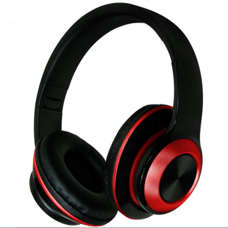 Conscientious Bluetooth Wireless Headphones Noise Cancelling Over Ear Stereo Headset For Phone Aux Audio Input Be Friendly In Use