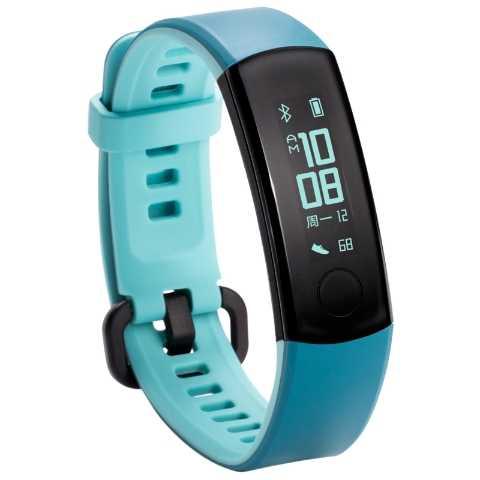 Huawei Honor Band 3 Смарт-браслет в режиме реального времени с контролем сердечного ритма 5 атм водонепроницаемый для плавания фитнес-трекер для Android iOS