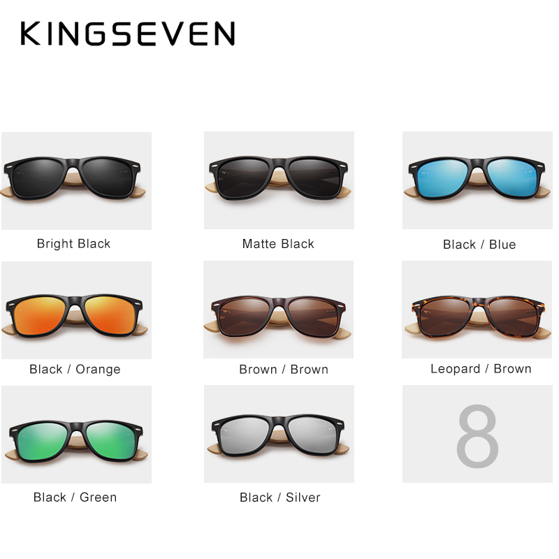2018 Nuevas gafas de sol polarizadas de bambú para hombre Gafas de - Accesorios para la ropa - foto 2