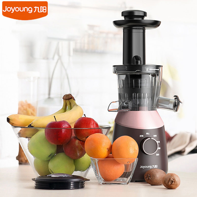 Joyoung Z8 V817 Electric Fruit Juicer Household Table Kitchen Juice Maker Slow Speed 48RPM No Filter Extractor 4 Gears|Juicers| |  - title=