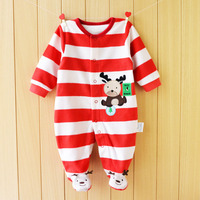 Newborn Fleece Baby Rompers Long Sleeve Baby Boys Girls Clothing Spring Winter Newborn Jumpsuits Roupas Bebes