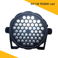 hot sale mini 54*1W led par light wash effect rgbw led par stage wash light dmx 512 control