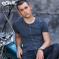 OLRIK 2016 New Summer men t-shirt Top Tees tshirt homme Cotton Casual Short Sleeve t shirt mens brand clothing fitness shirts