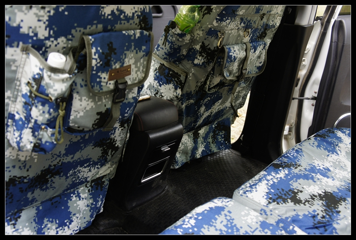 Marine Digital Camouflage Full Car Seat Cover Models